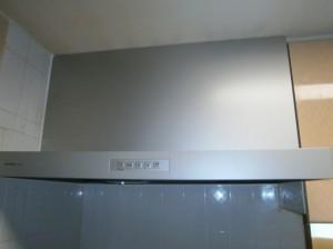 名古屋市名東区 レンジフード取替工事 完成